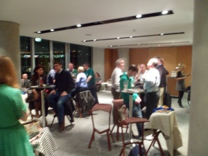 Around 30 from the Irish Rugby Supporter's Club attended